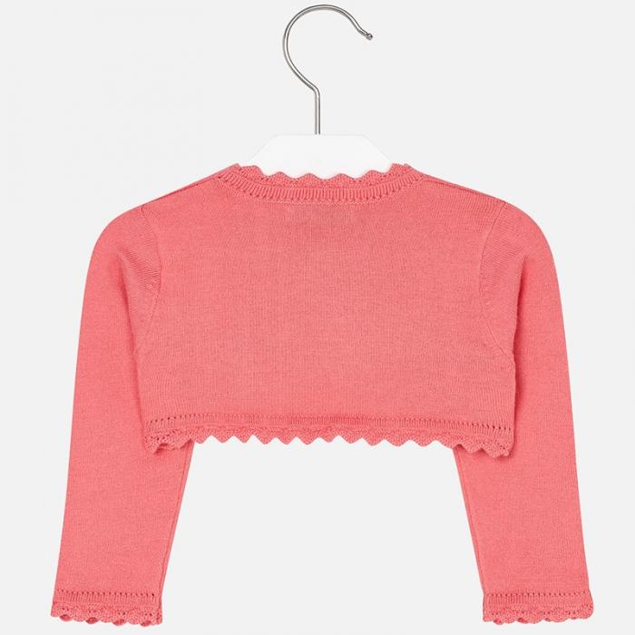 Bolero tricotat feteMayoral, coral [1]