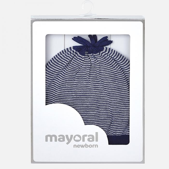 Caciula tricot bebe Mayoral, navy 2