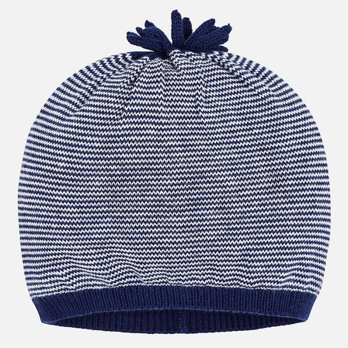 Caciula tricot bebe Mayoral, navy 0