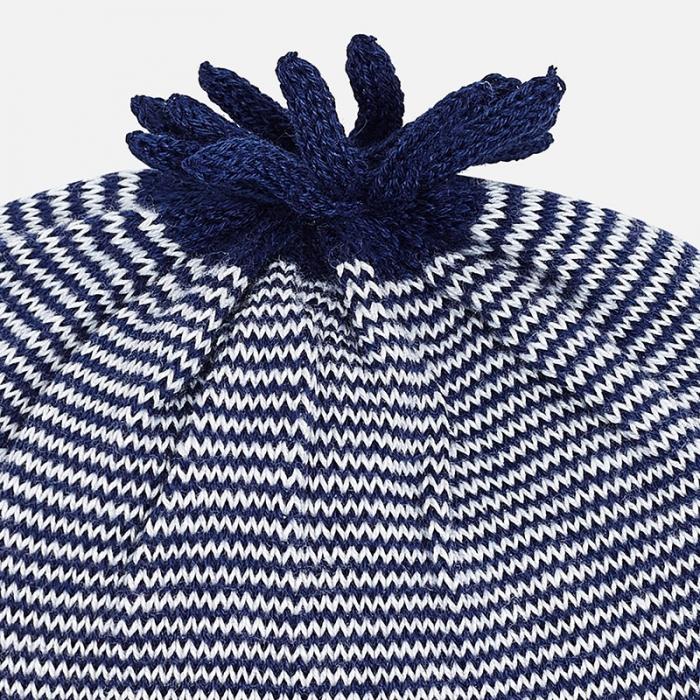 Caciula tricot bebe Mayoral, navy 1