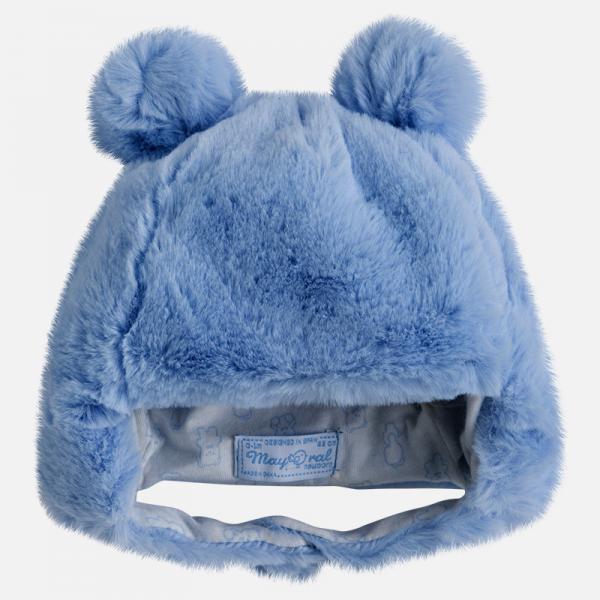 Caciulita bebe blanita Mayoral blue 0