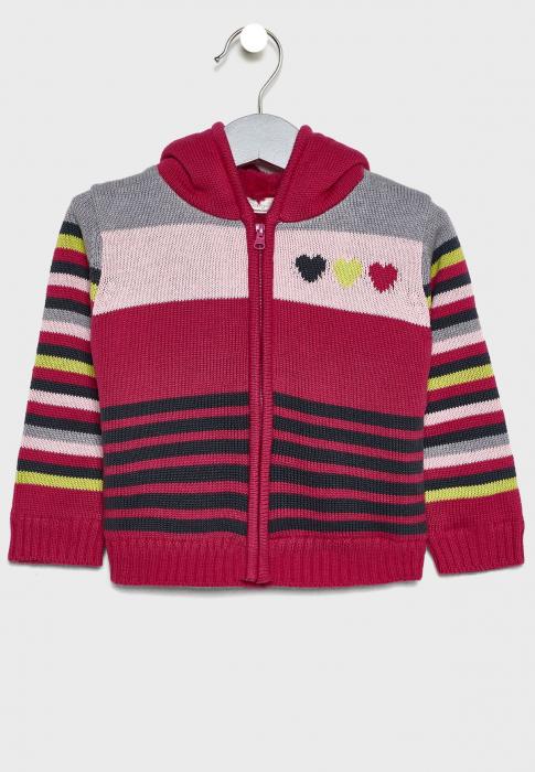Cardigan tricot fete imblanit , multicolor,Babybol [0]