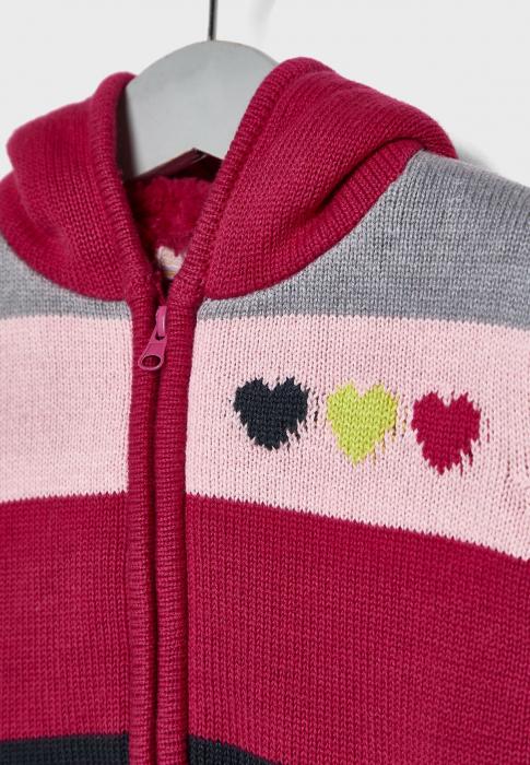 Cardigan tricot fete imblanit , multicolor,Babybol [2]