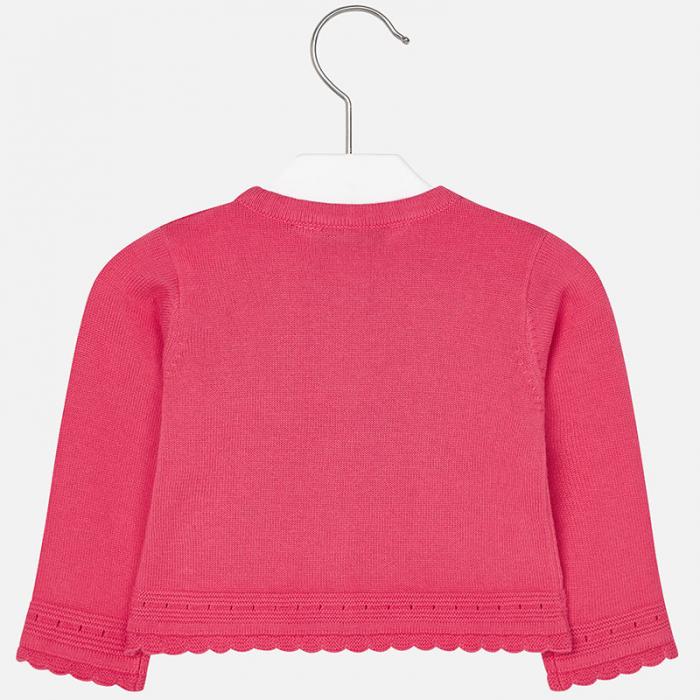 Cardigan tricotat fete , roz, Mayoral 1