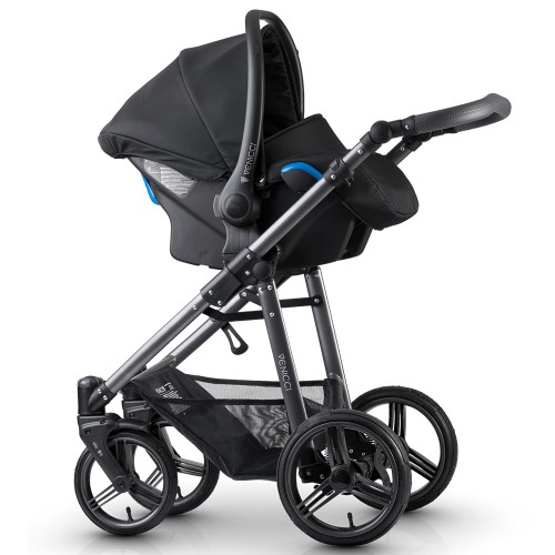 Carucior 3 in 1 Venicci Carbo Black LUX 2