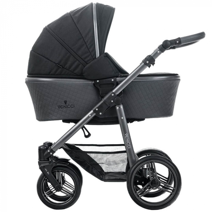 Carucior 3 in 1 Venicci Carbo Black LUX 0