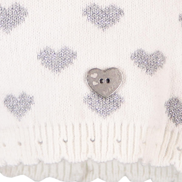 Caciula tricot inimioare Boboli 1