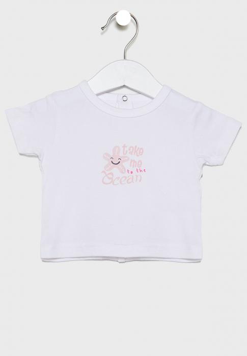 Compleu bebe fetita 3 piese ,0-12 luni ,  roz, Babybol 2