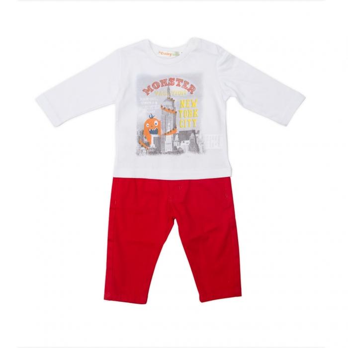 Compleu tricou si pantalon, Babybol 0
