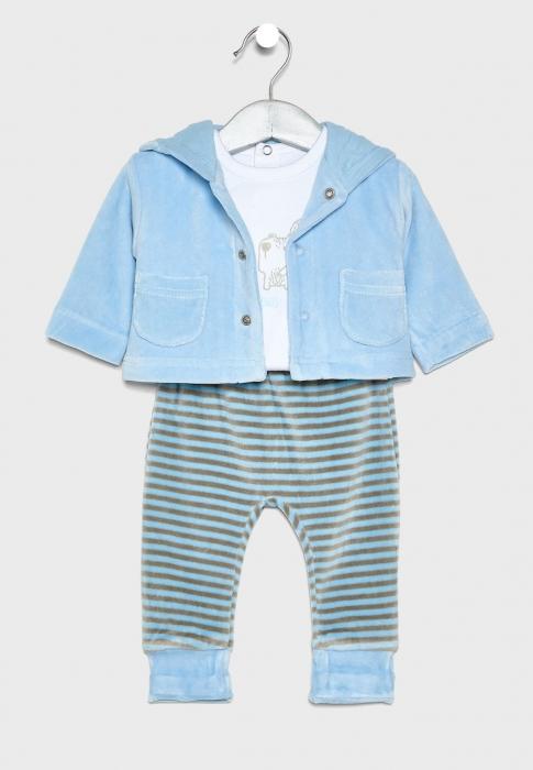 Costumas 3 piese bebe baiat, Babybol [0]