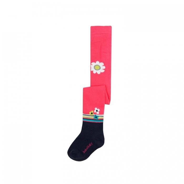 Dres fete din bumbac cu imprimeu flori, Boboli [0]
