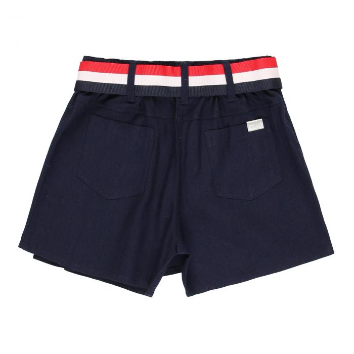 Fusta pantalon scurta, fete 8-16 ani , Boboli, navy 1