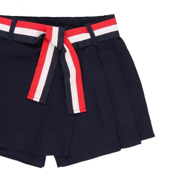 Fusta pantalon scurta, fete 8-16 ani , Boboli, navy 4