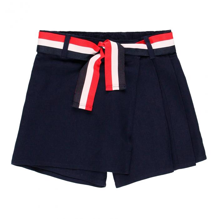 Fusta pantalon scurta, fete 8-16 ani , Boboli, navy 0