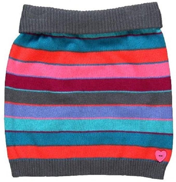 Fusta tricot fete multicolor, Boboli 0