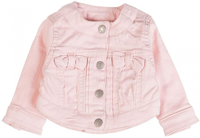 Geaca fete jeans strech roz , Babybol [0]