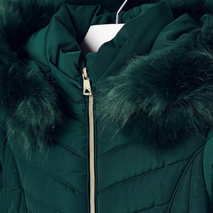 Geaca iarna fetite Mayoral, verde 3
