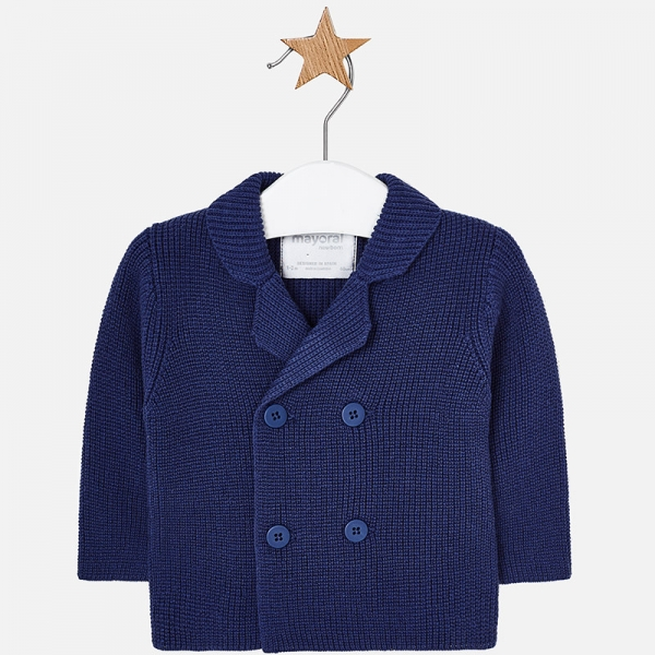 Jacheta baiat tricot Mayoral, navy 0