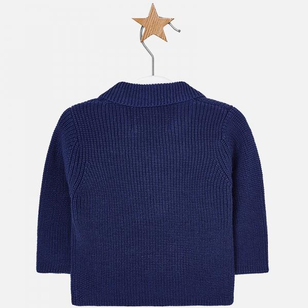 Jacheta baiat tricot Mayoral, navy 1