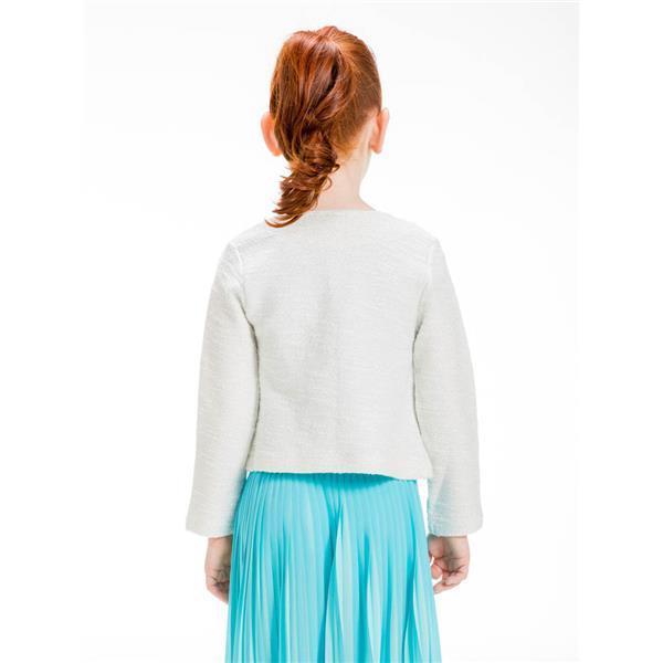 Jacheta eleganta fete 4-14 ani , fir bucle cu lurex UBS.2 Barcelona 1