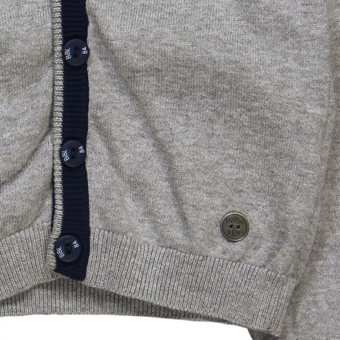 Jacheta tricot baieti , gri ,Boboli 3