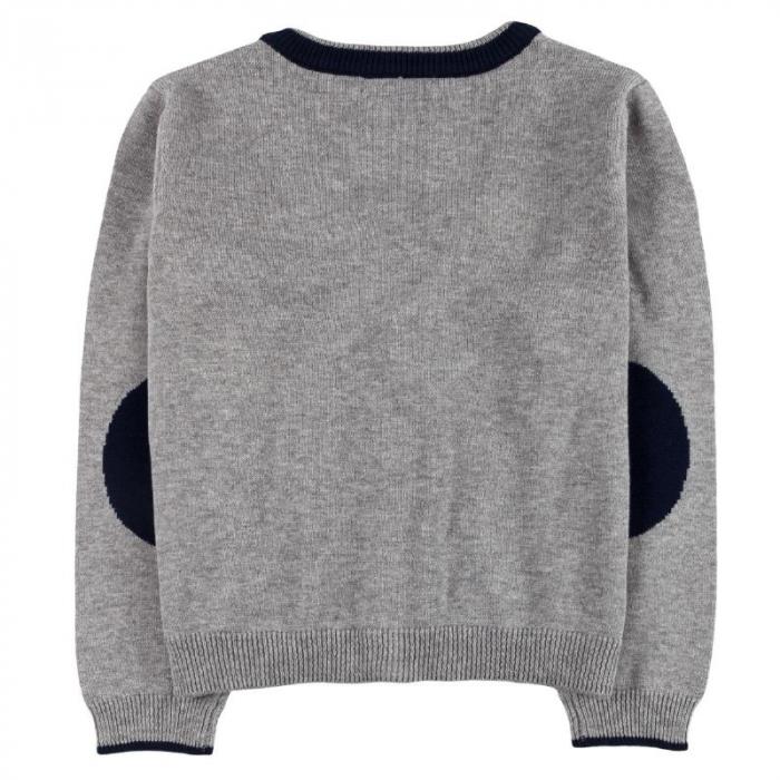 Jacheta tricot baieti , gri ,Boboli 1