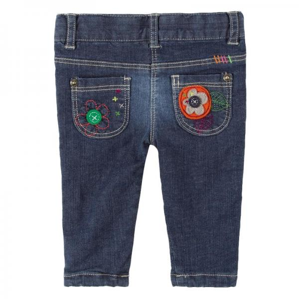 Jeans fete captusit bumbac Boboli 1