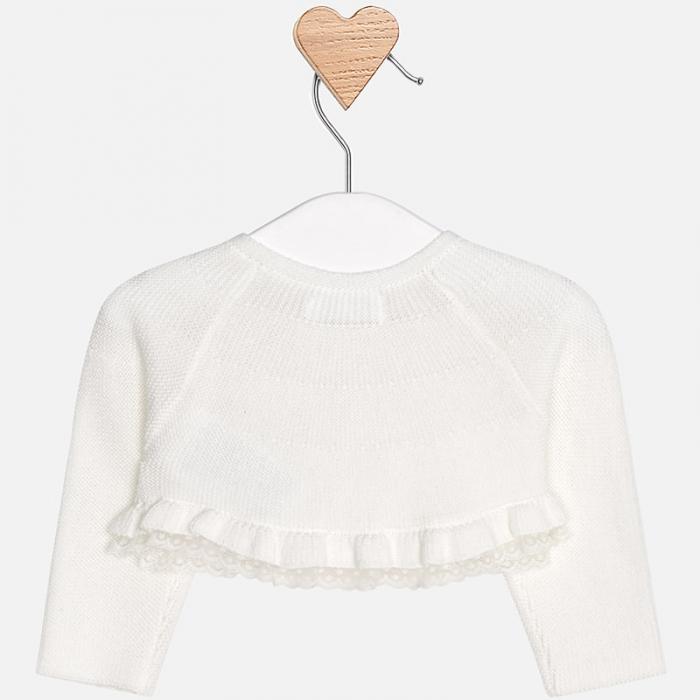 Mayoral - Bolero tricot fete crem 1