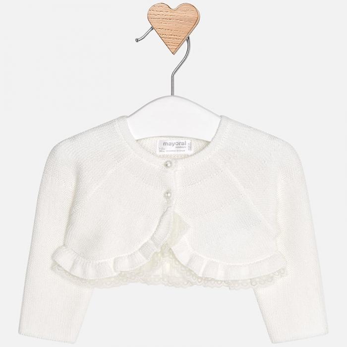 Mayoral - Bolero tricot fete crem 0