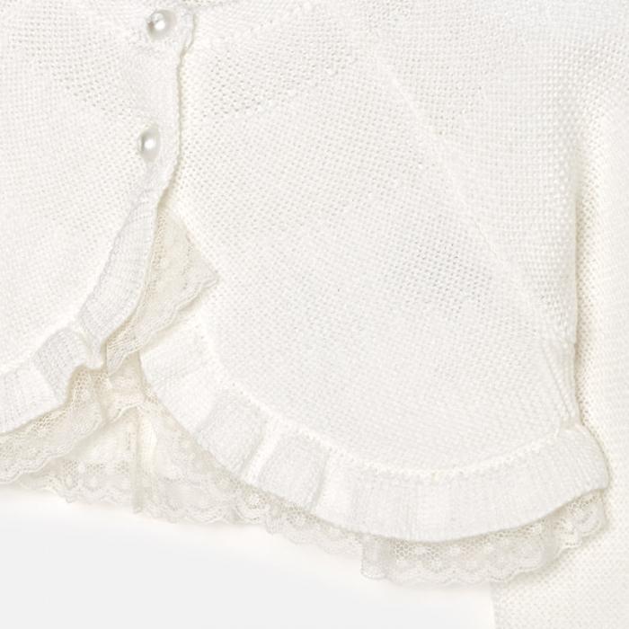 Mayoral - Bolero tricot fete crem 2