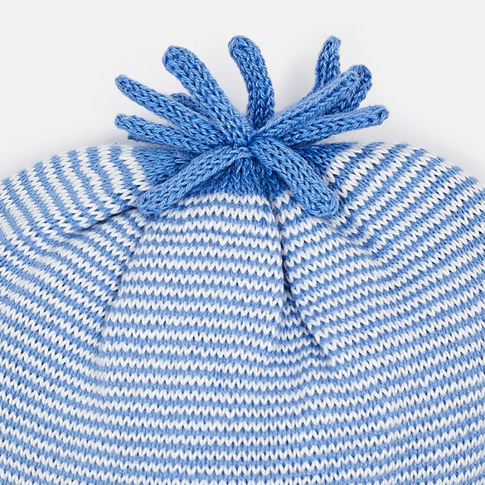 Mayoral - Caciula bebe baiat tricot, culoare blue 1