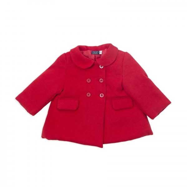 Palton fete rosu, matlasat, Babybol 0