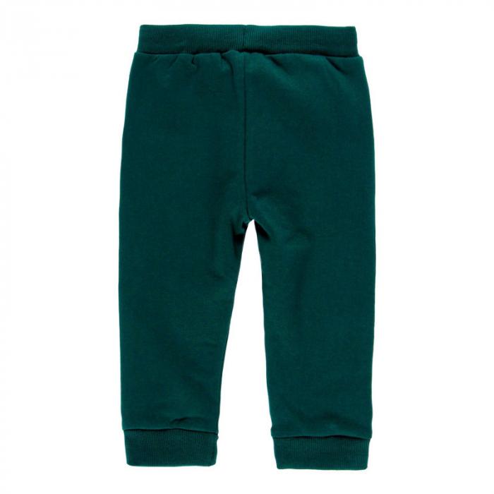 Pantalon bumbac fete 2-6ani , verde , Boboli [1]