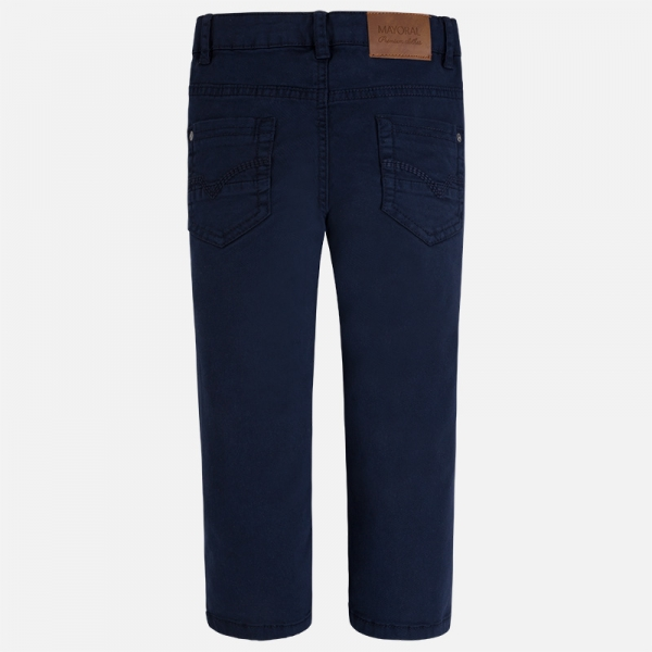 Pantalon elegant baiat Mayoral navy 1