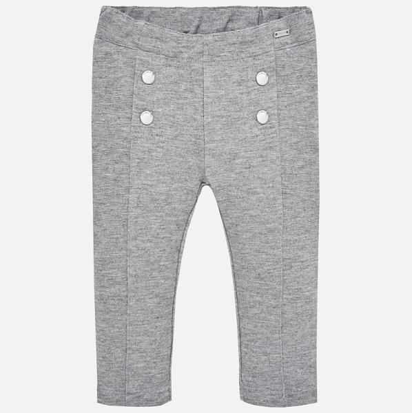 Pantalon fete Mayoral gri 0