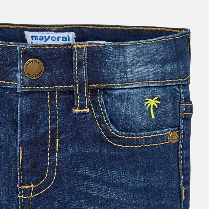 Pantalon jeans baiat ,slim fit, Mayoral 2