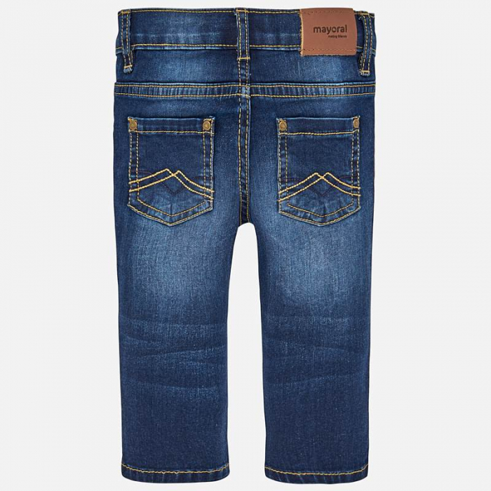 Pantalon jeans baiat ,slim fit, Mayoral 1