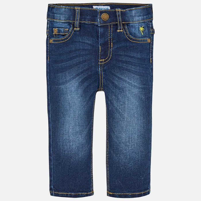 Pantalon jeans baiat ,slim fit, Mayoral 0