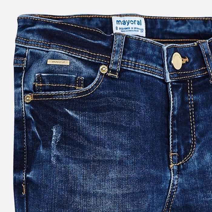 Pantalon jeans fete 8-16 ani Mayoral 2