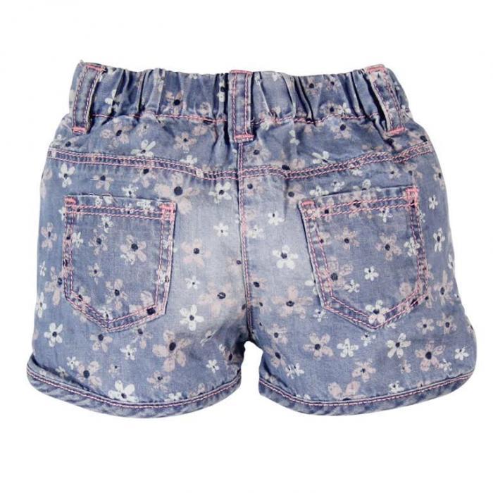 Pantalon jeans scurt fete Boboli 1