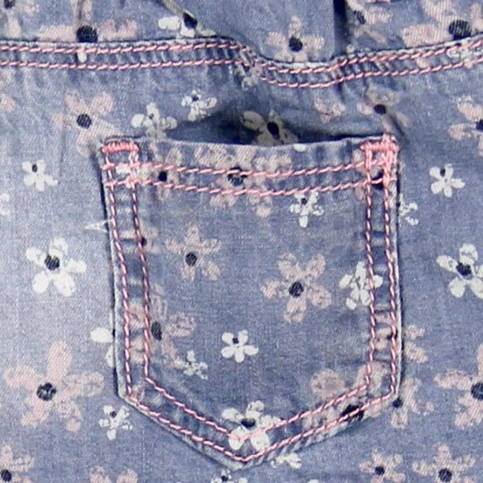Pantalon jeans scurt fete Boboli 3