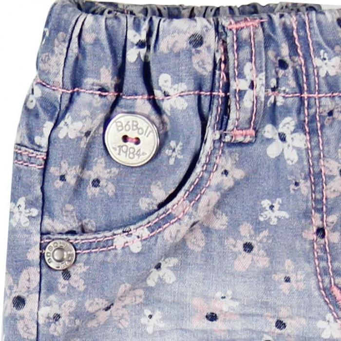Pantalon jeans scurt fete Boboli 2