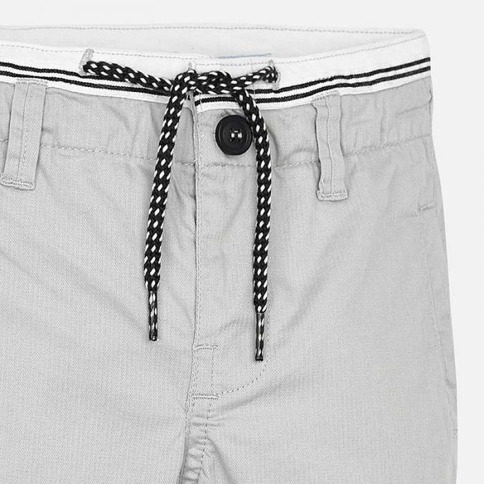 Pantalon lung baiat chino slim fit gri Mayoral [3]