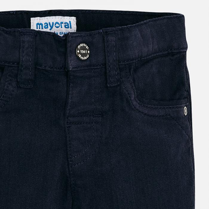 Pantalon lung bebe baiat ,super slim,bleumarin, Mayoral 2