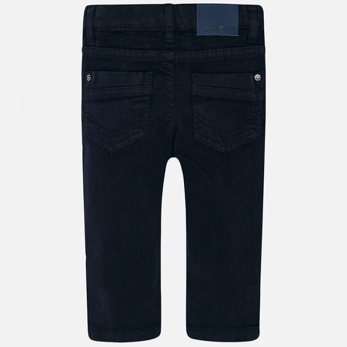 Pantalon lung bebe baiat ,super slim,bleumarin, Mayoral 1