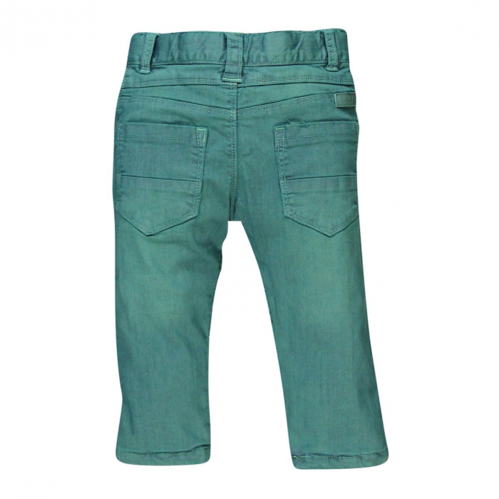 Pantalon lung captusit bebe baiat verde 1