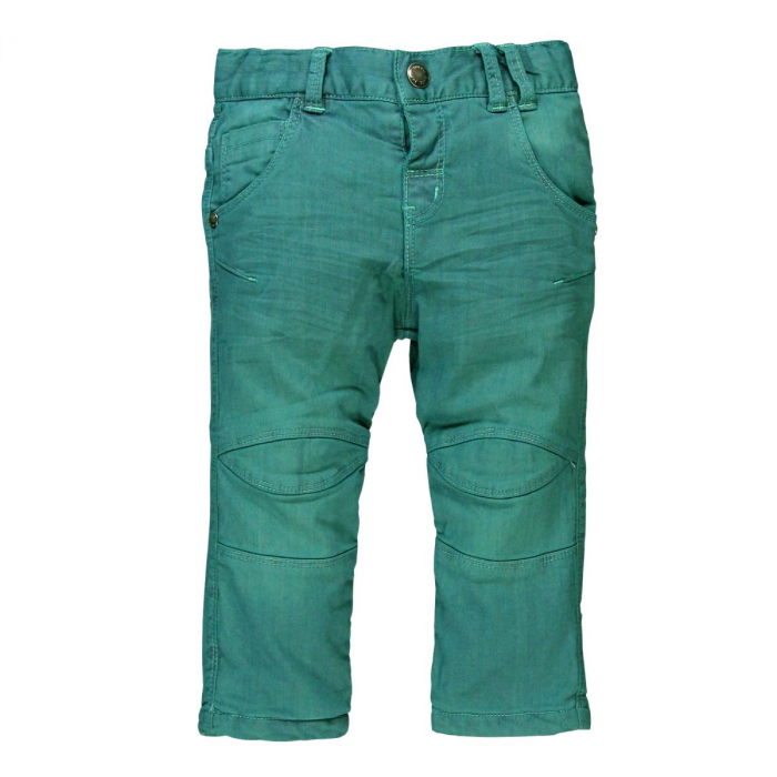 Pantalon lung captusit bebe baiat verde 0