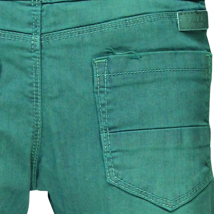 Pantalon lung captusit bebe baiat verde 3