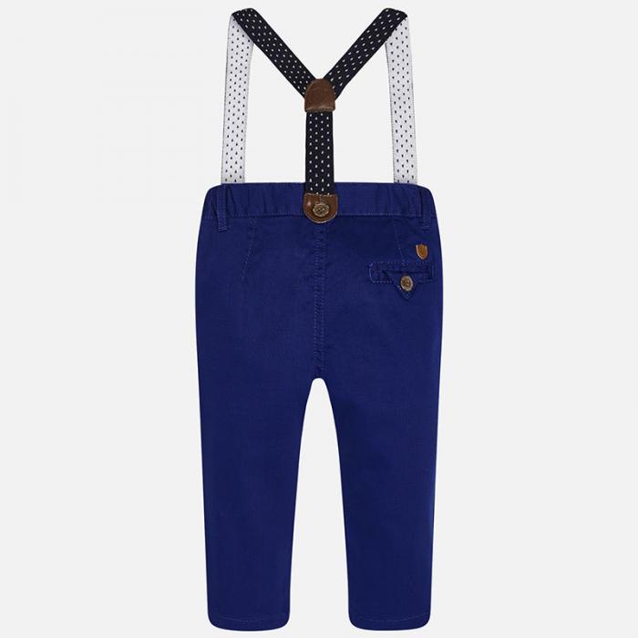 Pantalon navy cu bretele Mayoral 1525 1