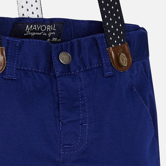 Pantalon navy cu bretele Mayoral 1525 2